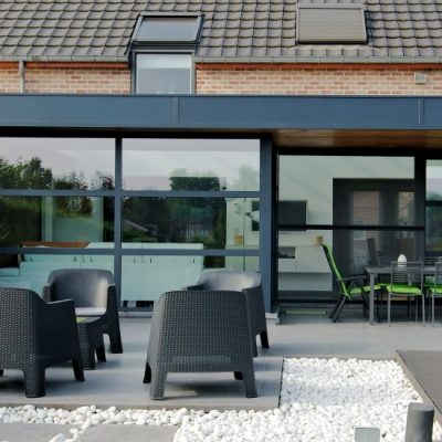 isolation toit véranda aluminium